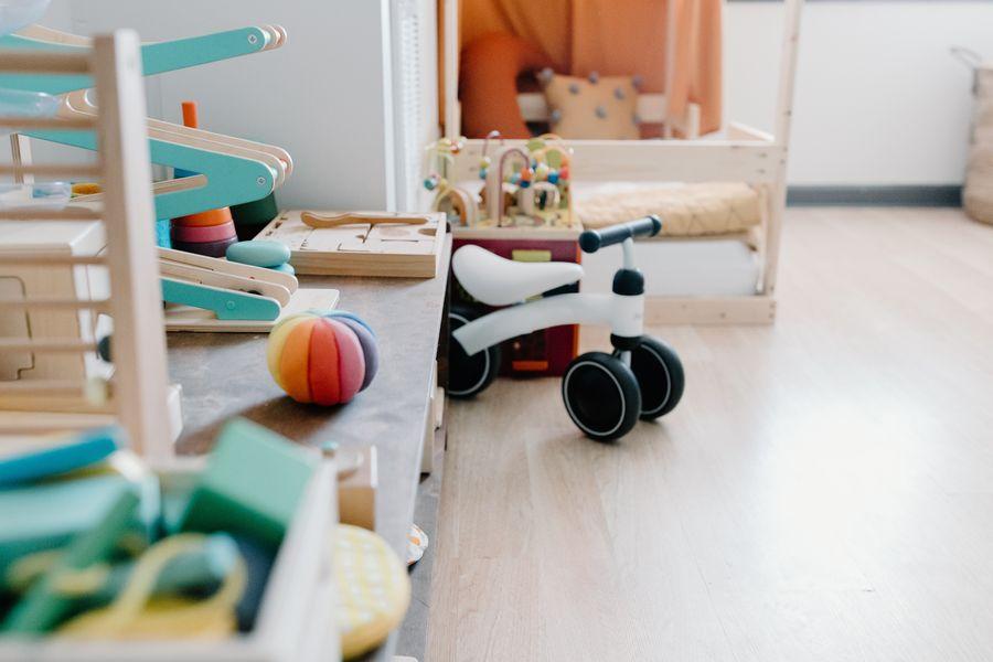 Montessori žaidimų erdvė